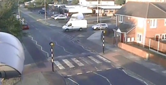 A woman who lied to police about being burgled was exposed when officers found this CCTV of her car being towed away by a van. Hayley Barlow, 36, dialled 999 in the early hours of July 4 last year claiming she'd woken to discover her car keys had been stolen and her Volkswagen Golf had disappeared from outsider her home in Chester. Caption: CCTV of Hayley Barlow having car towed in insurance scam