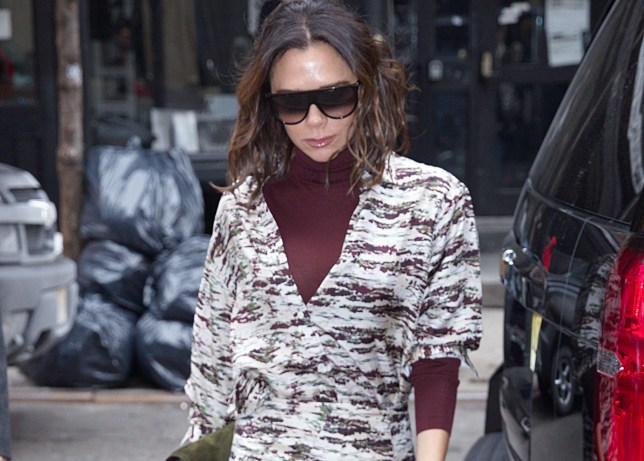 Victoria Beckham out and about in New York. 23 Jan 2019 Pictured: Victoria Beckham. Photo credit: FZS / MEGA TheMegaAgency.com +1 888 505 6342