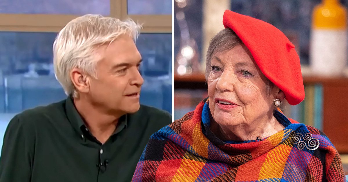 Phillip Schofield gets stern telling off by 83-year-old sex blogger for making 'ageist statement'