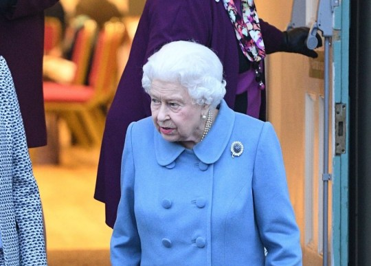 Queen Elizabeth II (front right) leaves after attending a Sandringham Women's Institute (WI) meeting at West Newton Village Hall, Norfolk. PRESS ASSOCIATION Photo. Picture date: Thursday January 24, 2019. Photo credit should read: Joe Giddens/PA Wire