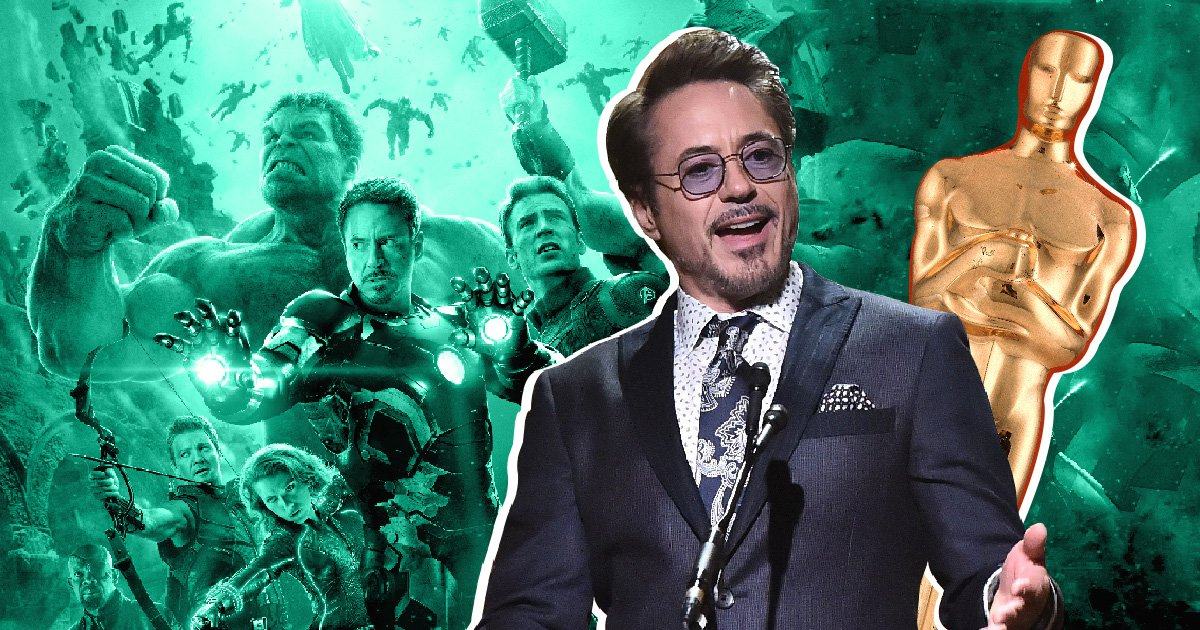 Robert Downey Jr 'proud' of Avengers: Infinity War's Oscars nomination as Marvel makes history