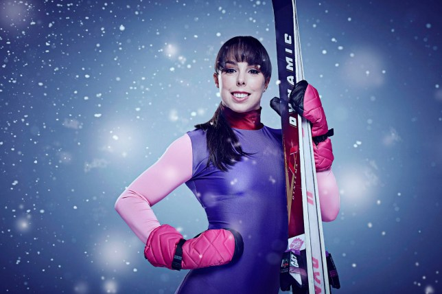 """Television Programme: The Jump with Beth Tweddle. Undated handout file photo issued by Channel 4 of Beth Tweddle, who """"has managed to walk a few steps whilst being assisted by the nursing team"""" following surgery after she was injured on Channel 4 show The Jump, a statement from her parents Ann and Jerry said. PRESS ASSOCIATION Photo. Issue date: Wednesday February 10, 2016. See PA story SHOWBIZ Jump. Photo credit should read: Ian Derry/Channel 4/PA Wire NOTE TO EDITORS: This handout photo may only be used in for editorial reporting purposes for the contemporaneous illustration of events, things or the people in the image or facts mentioned in the caption. Reuse of the picture may require further permission from the copyright holder."""