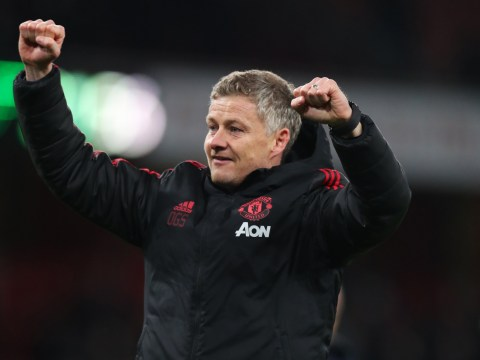 Ole Gunnar Solskjaer reveals he played clips of Cristiano Ronaldo's famous goal in team talk before Manchester United beat Arsenal