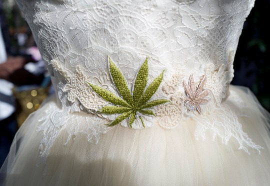 Wedding dresses in Weed