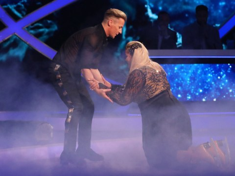 Gemma Collins thinks a 'blackout' caused Dancing On Ice fall that's left her using a wheelchair