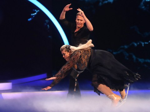 Gemma Collins reveals shocking bruises at spa after horrific Dancing On Ice tumbles