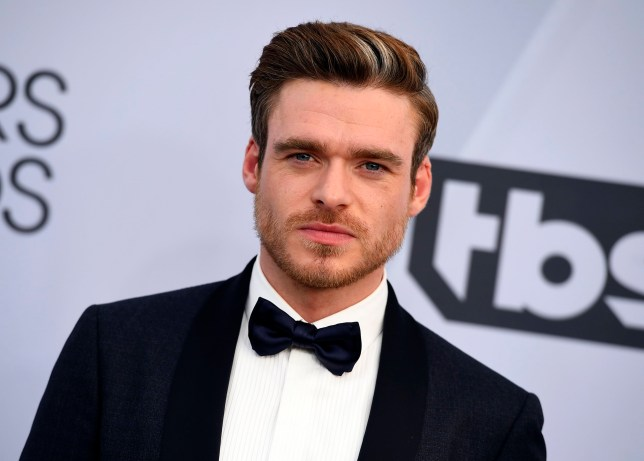 Richard Madden arrives at the 25th annual Screen Actors Guild Awards at the Shrine Auditorium & Expo Hall on Sunday, Jan. 27, 2019, in Los Angeles. (Photo by Jordan Strauss/Invision/AP)