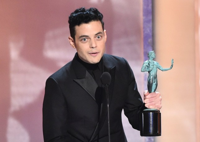 Rami Malek at Screen Actors Guild awards
