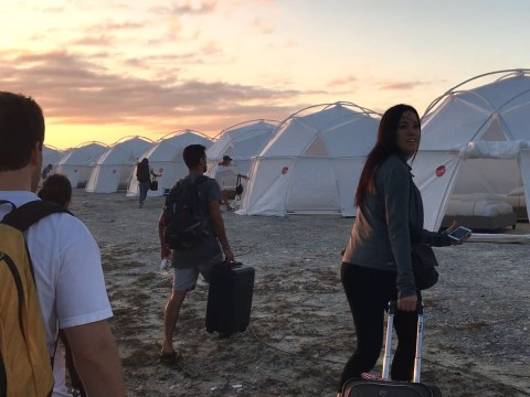 There's a live action role playing event so you can recreate Fyre Festival