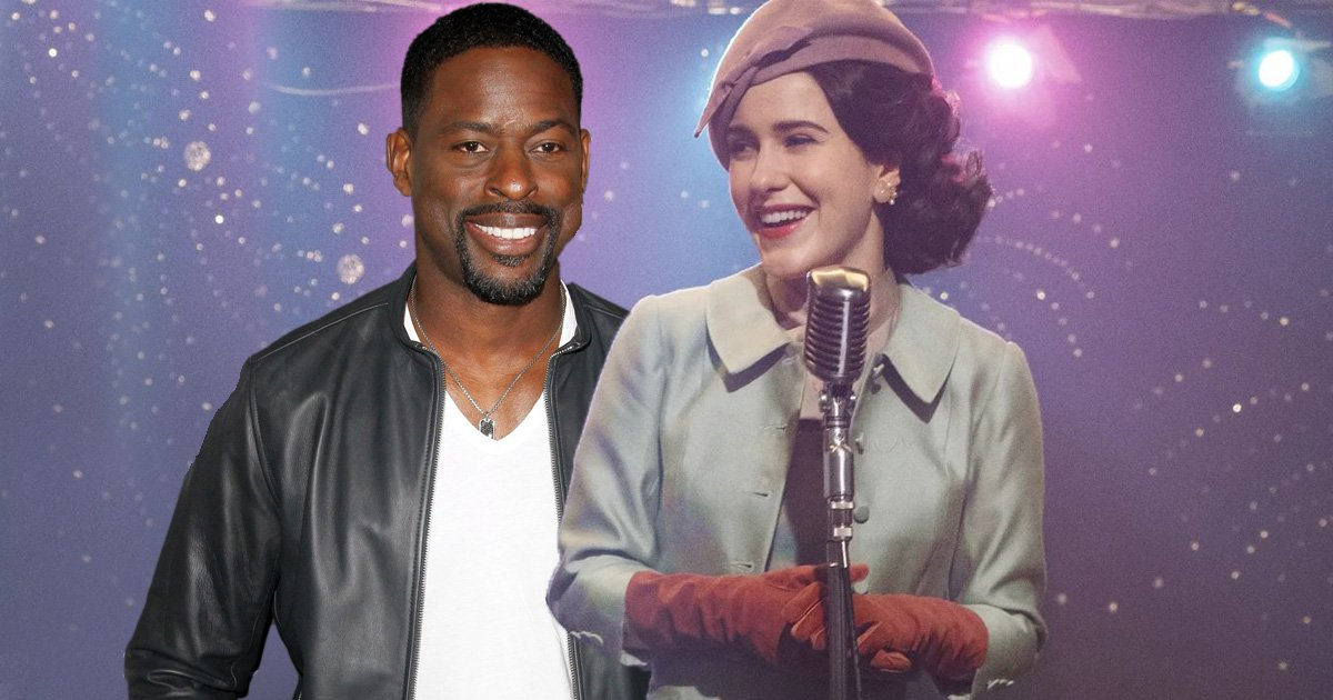 Sterling K. Brown says he's 'in' for a role on The Marvelous Mrs. Maisel