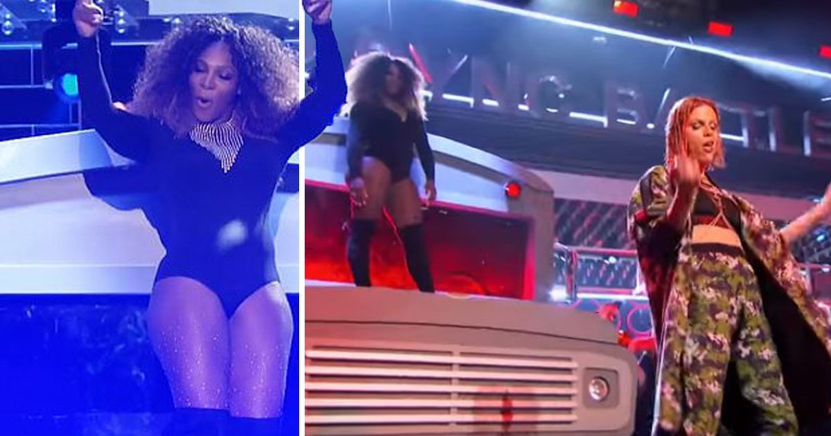 Serena Williams dances to Beyonce's Sorry on Lip Sync Battle and it's as amazing as you'd expect