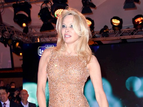 Pamela Anderson shows off impressive dance moves for surprise routine with Maxime Dereymez