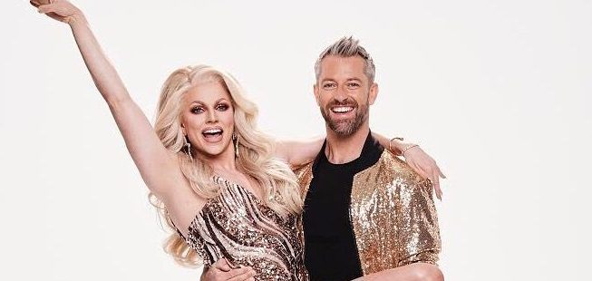 Courtney Act to make history on Dancing With The Stars alongside male partner as she confesses she can't wait for 'sexy dances'