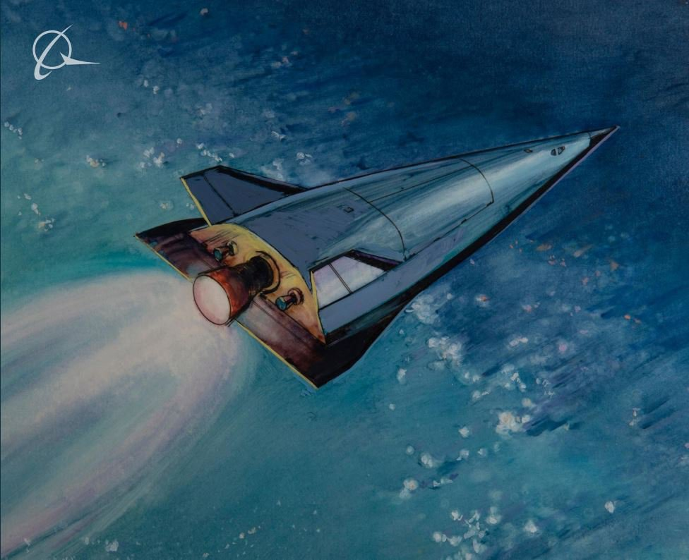 Boeing patent reveals mysterious UFO-style space plane launched from Area 51 picture: boeing metro grab