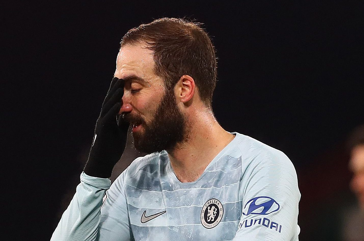 Maurizio Sarri admits Gonzalo Higuain is 'not in good shape' after Chelsea get hammered by Bournemouth