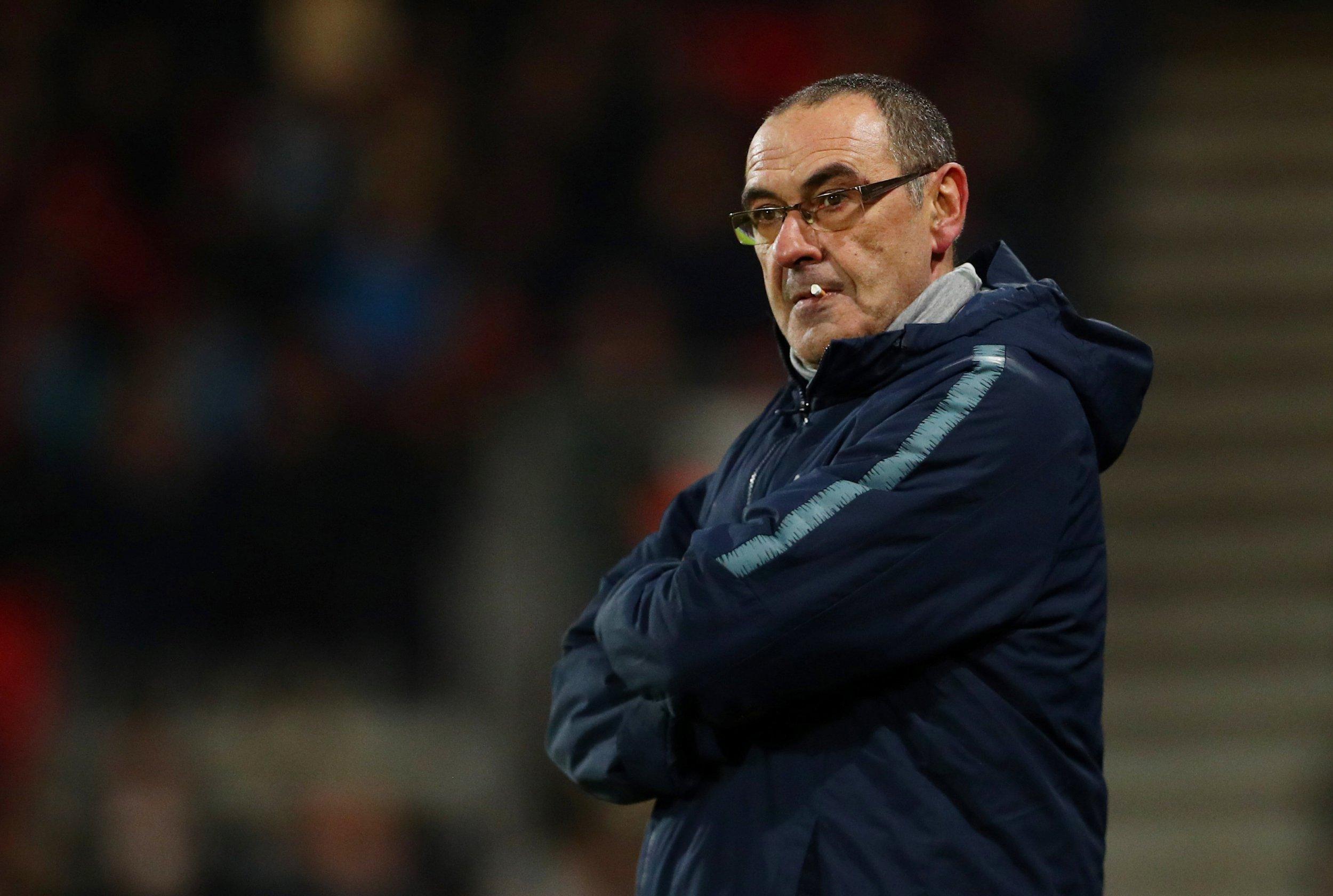 Maurizio Sarri dismisses Jorginho fears ahead of Chelsea's trip to Man City