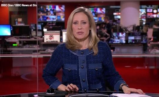 Picture: BBC BBC blooper was appropriate