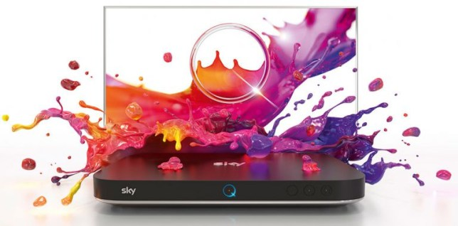 The Sky Q set top box has been given a big upgrade (Sky)