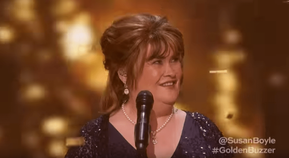 Susan Boyle AGT Golden Buzzer