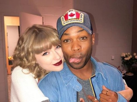Taylor Swift's friend Todrick Hall admits he was scared to talk about being gay around her