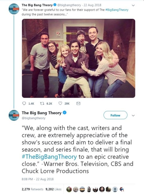 When is The Big Bang Theory series 12 returning to E4 in the UK