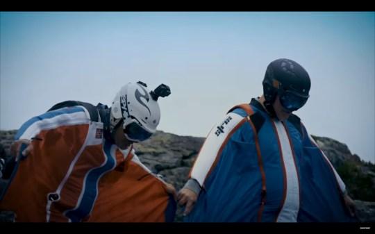Matt LeBlanc teases new Top Gear by appearing in a wingsuit