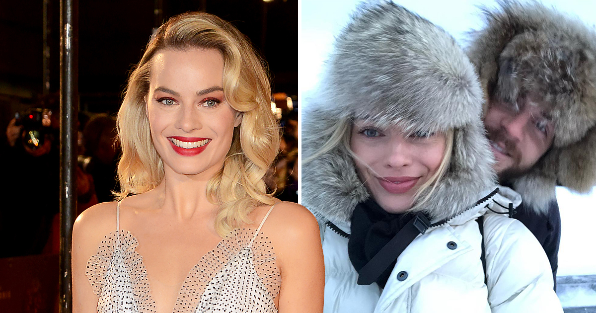Margot Robbie gives sneak peek into romantic getaway as she jets off to Lapland with Tom Ackerley