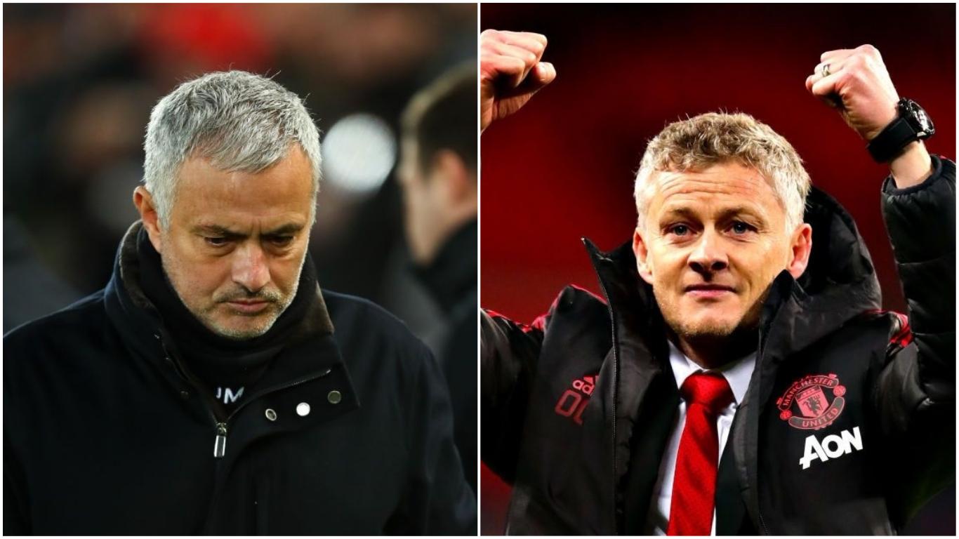 Jose Mourinho questions Ole Gunnar Solskjaer's long-term future at Manchester United
