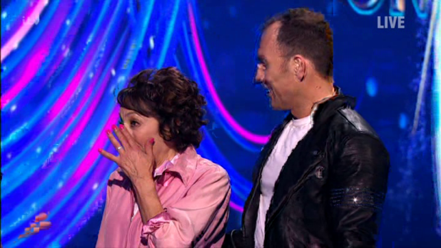 Didi Conn left in tears after Dancing On Ice debut (Picture: ITV)