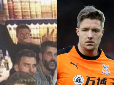 Crystal Palace goalkeeper Wayne Hennessey charged by FA over alleged Nazi salute