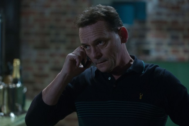 Billy Mitchell, played by Perry Fenwick on EastEnders
