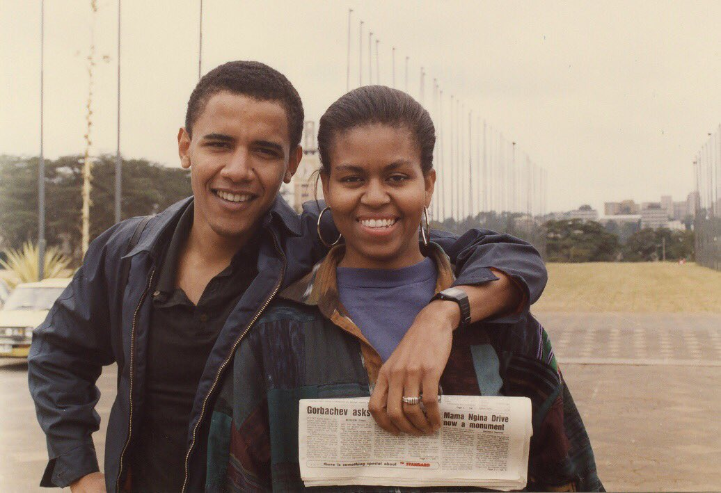 Michelle Obama pays tribute to Barack in moving untold story