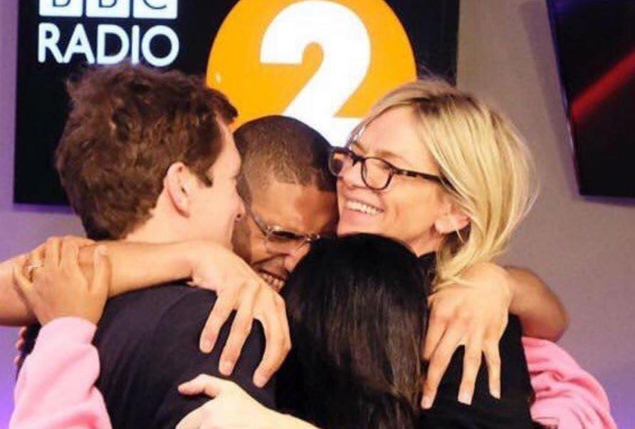 Who is on Zoe Ball's Radio 2 Breakfast Show team?