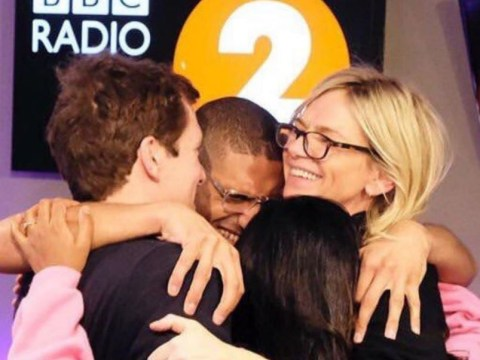 Who is on Zoe Ball's Radio 2 Breakfast Show team?