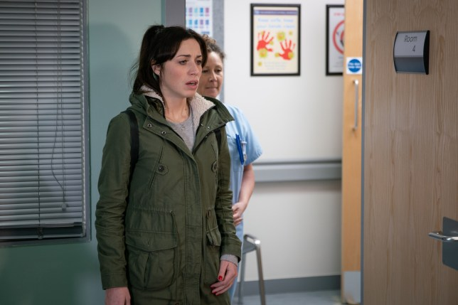 Shona fears the worst about Clayton in Coronation Street