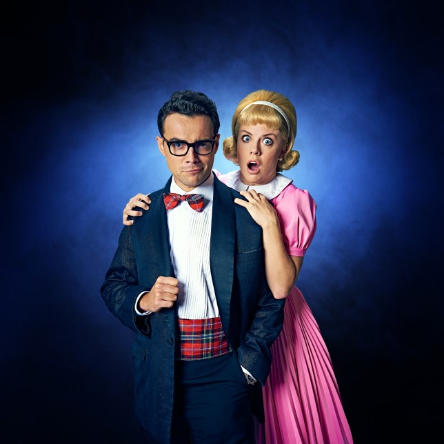 Ben Adams and Joanne Clifton in Rocky Horror