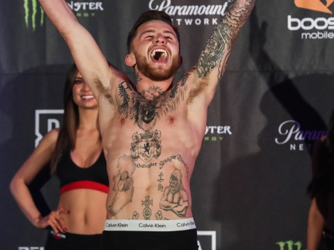 Bellator star James Gallagher tells detractors MMA will move forward
