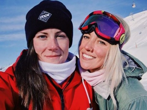 The Grand Tour pro driver Abbie Eaton kisses girlfriend and defends hosts against homophobia claims