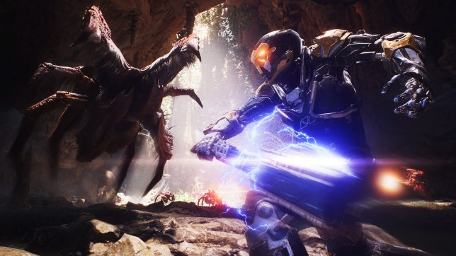Anthem - the monsters are not very imaginative