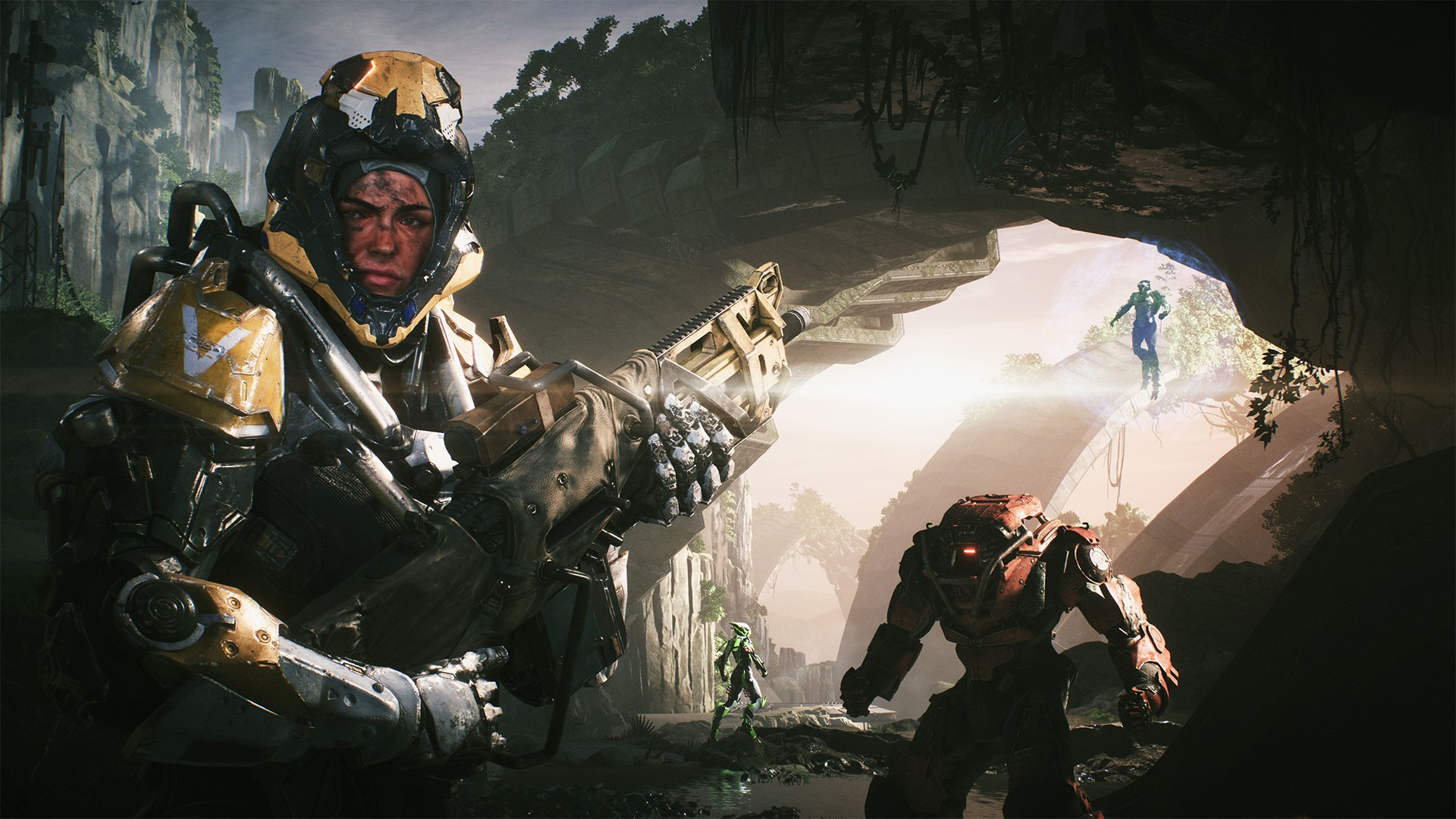 Anthem review in progress – a weekend with BioWare's shared world shooter