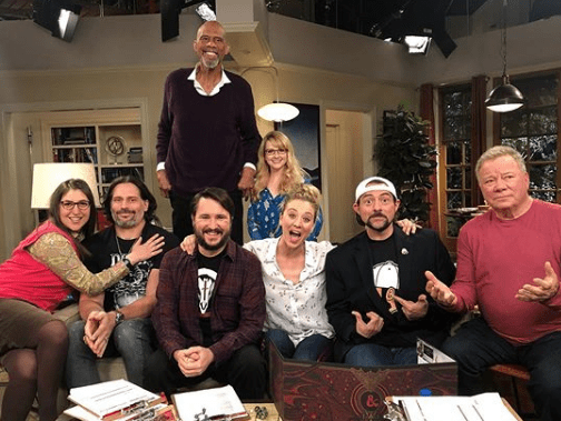 The Big Bang Theory's Kaley Cuoco issues warning ahead of William Shatner episode