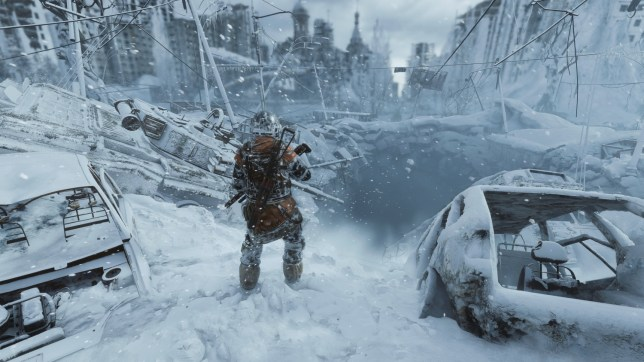 Gameplay from Metro Exodus on the PS4