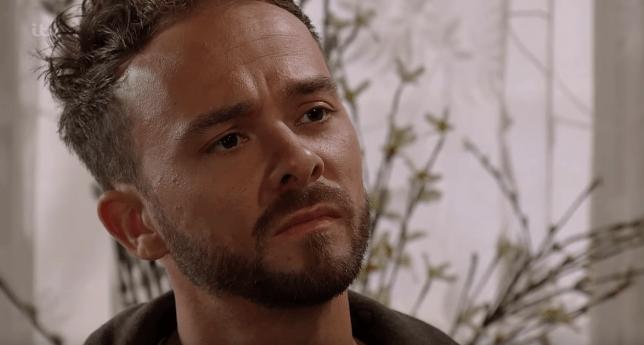 David Platt threatens to kill Clayton in Coronation Street