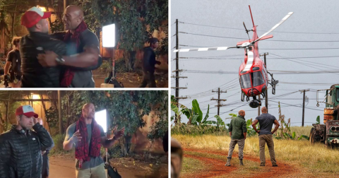 Dwayne Johnson wraps filming on Hobbs & Shaw: 'Easily the most challenging film I've ever done'