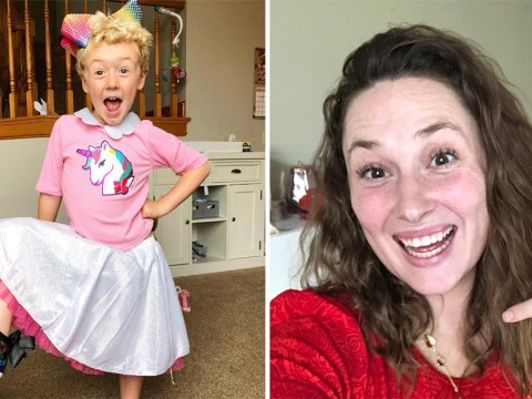 Jessica Ballinger defends son wearing dresses: 'I will love him however he identifies'
