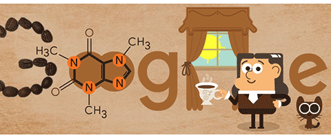 Today's Google Doodle Friedlieb Ferdinand Runge, from discovering caffeine to malaria treatment