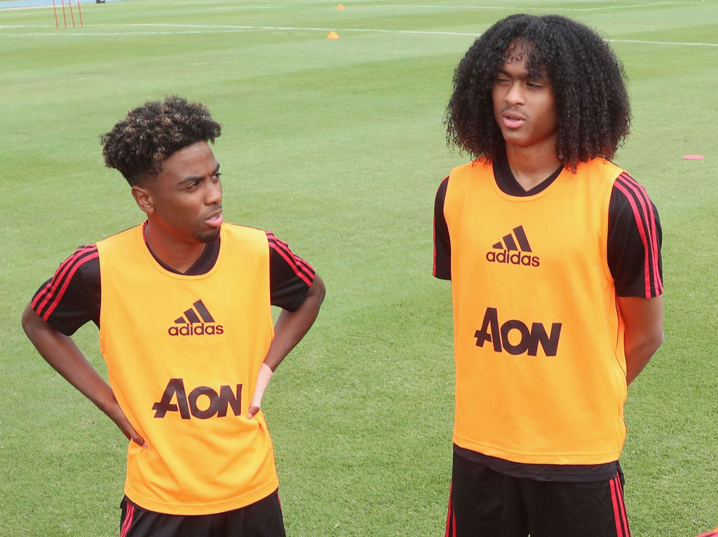 Ole Gunnar Solskjaer hints Angel Gomes and Tahith Chong could play against Chelsea and Liverpool
