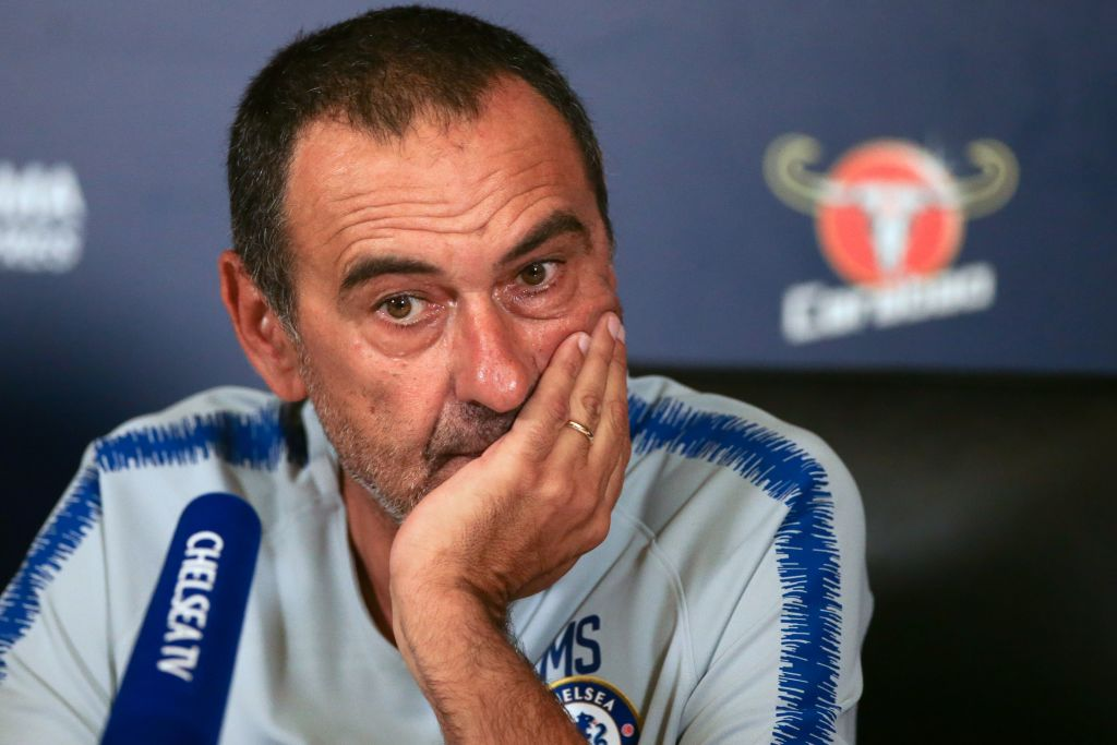 Maurizio Sarri takes swipe at three Chelsea stars including Eden Hazard