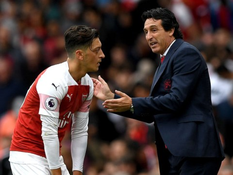 Mutiny? Arsenal stars respond to Mesut Ozil's post after he's axed by Unai Emery