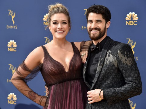 Glee star Darren Criss marries longtime girlfriend Mia Swier